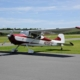 Beautifyl Cessna 140 on ramp at CGE